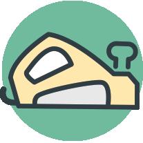 vink houtbewerking icon