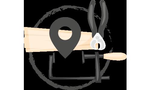 vink locatie icon