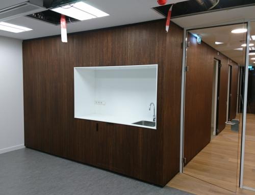 Complete inrichting kantoor