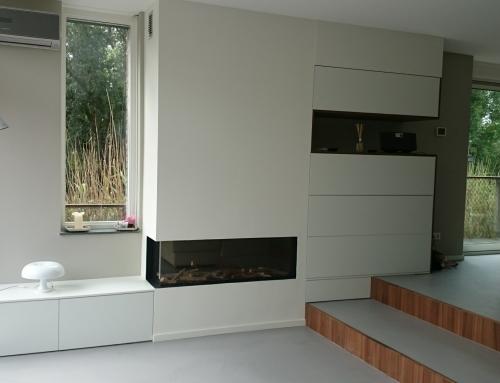 Ingemeten TV meubel